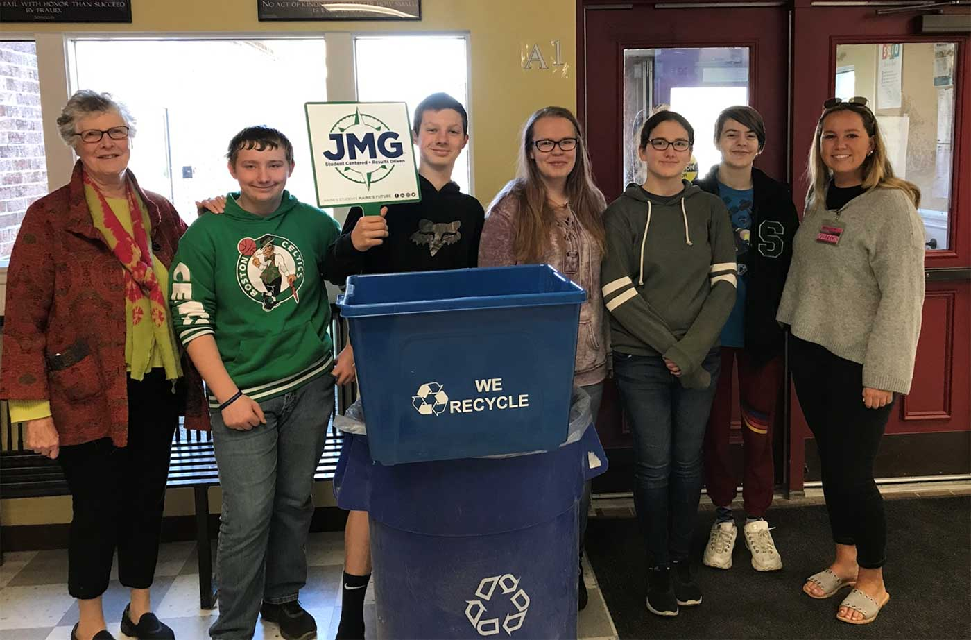 Jobs For Maine S Graduates Share Recycling Success