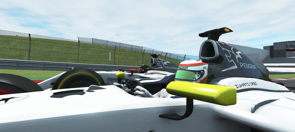 GP USA, Peugeot duelo por la Victoria