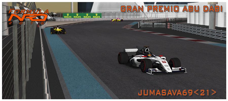 Jumasava, victoria sufrida en Yas Marina