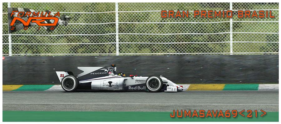 GP Brasil, Jumasava gana en Interlagos
