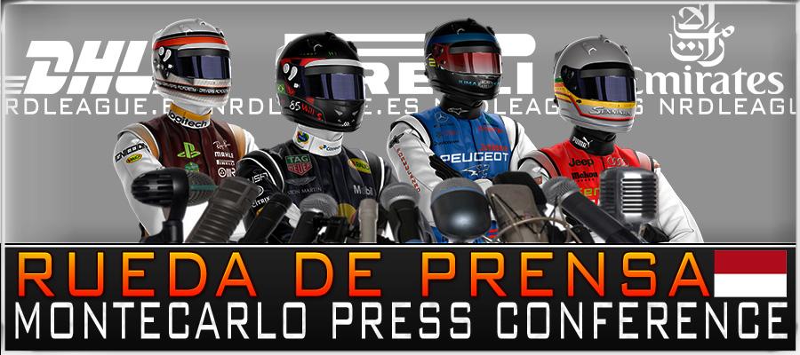 Rueda de Prensa Gran Premio Mónaco