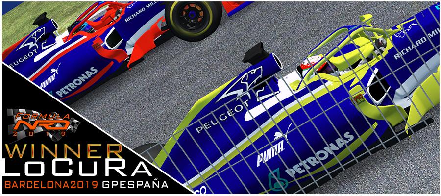 LoCuRa gana en Barcelona, Peugeot despega.