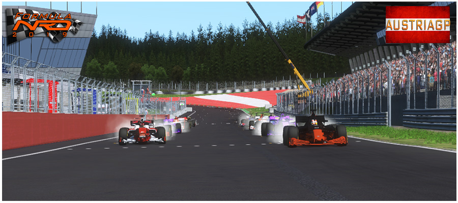 Gran Premio Austria, Salida