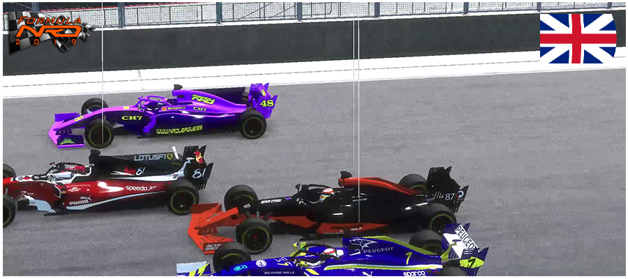 Gran Premio Gran Bretaña, Salida