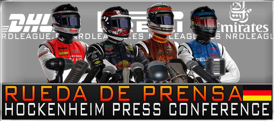 Rueda de Prensa GP Alemania.