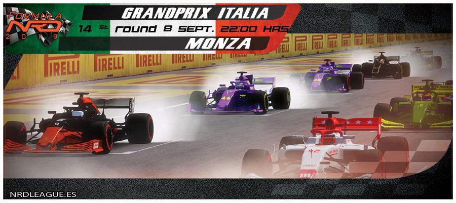 Gran Premio Italia, Salida 1 vuelta.