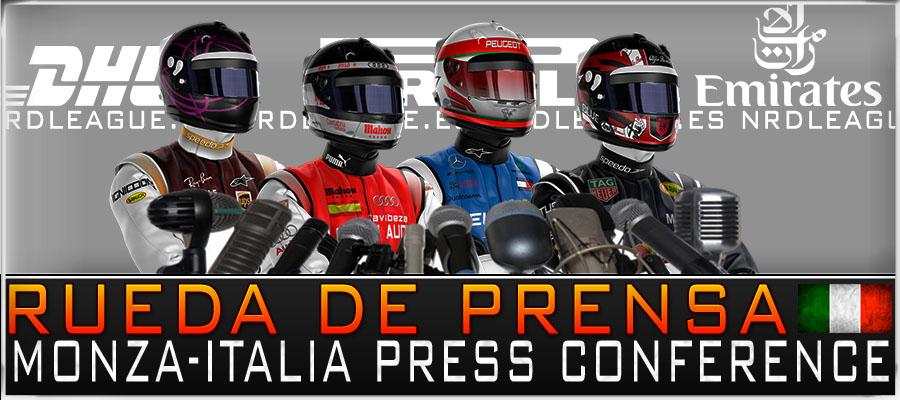 Rueda de Prensa, GP Italia 2019