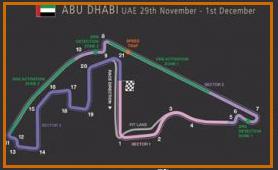 Gran Premio Abu Dhabi @ Circuito Yas Marina 39 vueltas