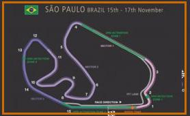 Gran Premio Brasil @ Circuito Interlagos 50 vueltas