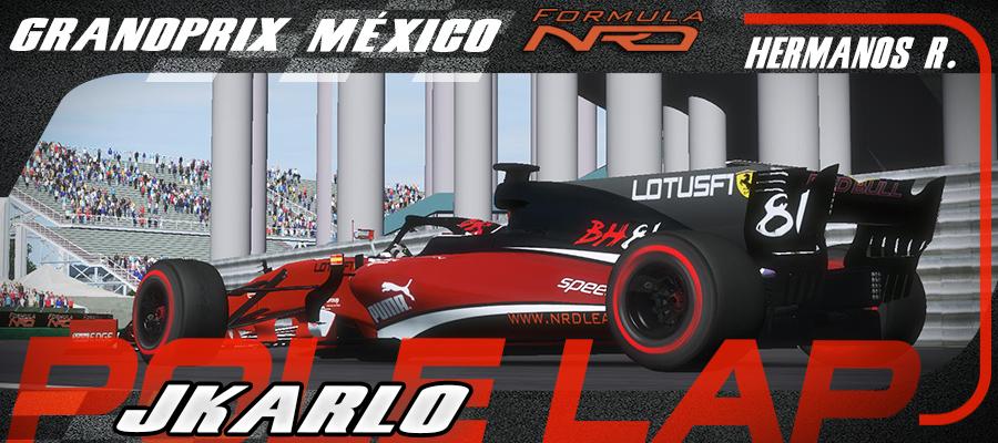 GP México Onboard Pole Lap Leclerc/jkarlo