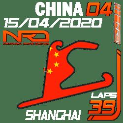 Gran Premio China, Shanghai 39 vueltas.