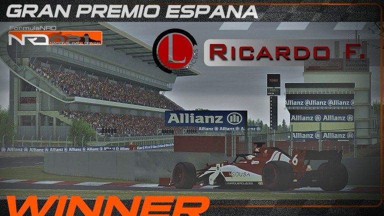 Ricardo Ferreira aplasta a sus rivales en el GP de España