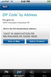 zip code by address