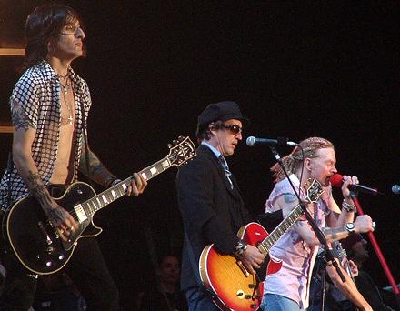 Axl & Izzy ao vivo em 2006