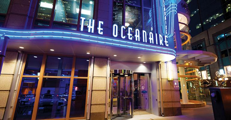 Oceanaire rescinds 3 meal surcharge  Nations Restaurant
