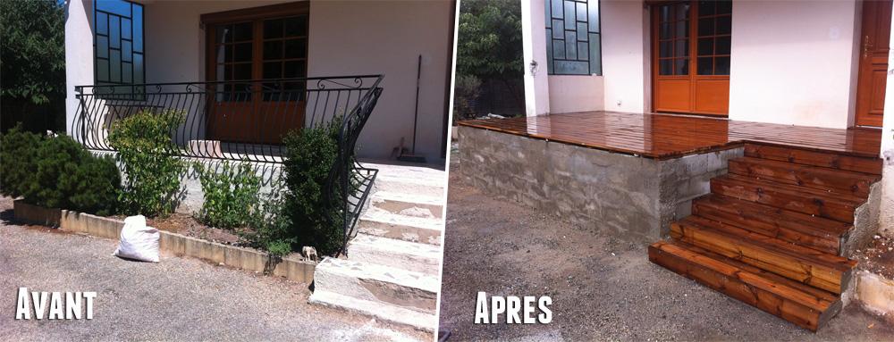 Comment Faire Une Extension De Terrasse En Bois Blog Ns Immobilier