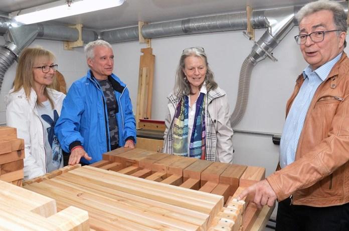 New Community Wood Workshop opens in Rosemère