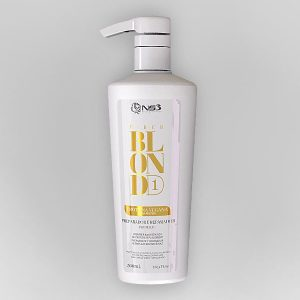 Fiber Blond Preparador - QUERATINA MATIZADORA SPRAY 500ML