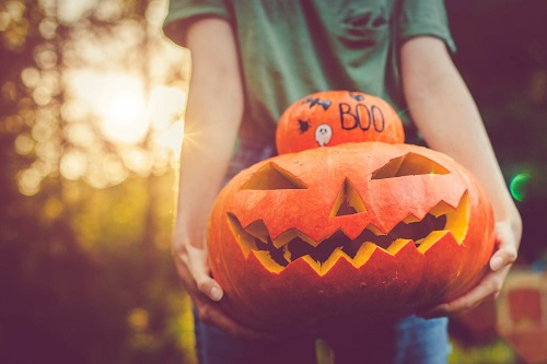 Watch a spooky movie or get more creative. Halloween National Safety Council