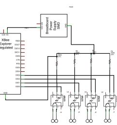 schematic of on module accessory decoder input interface  [ 1163 x 872 Pixel ]