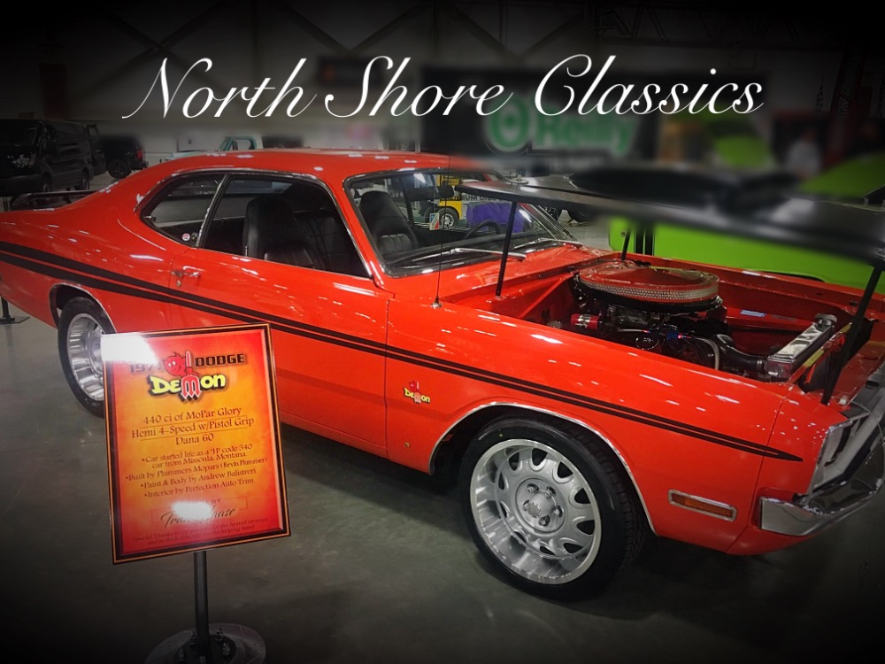 1971 Dodge Demon 340 4 Speed For Sale The Electric Garage