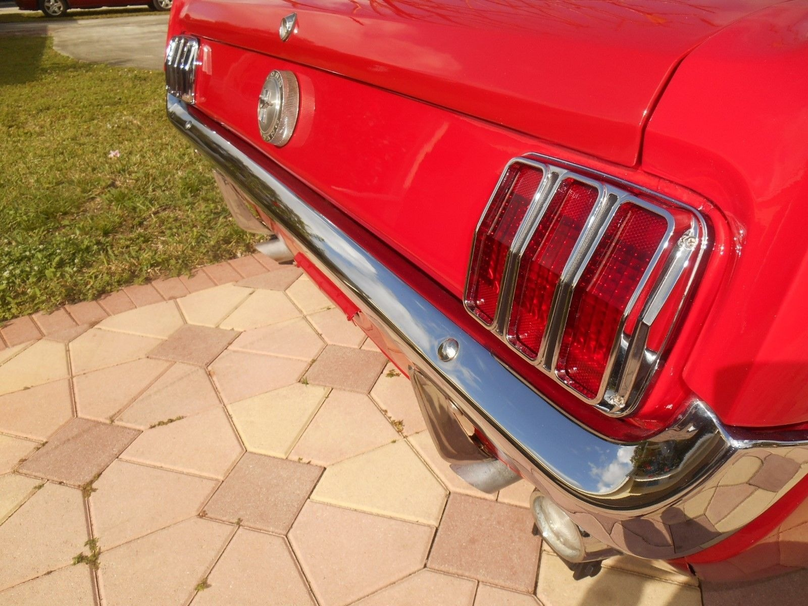 1966 mustang 289 engine telephone wall socket wiring diagram australia ford deluxe candy apple red with manual used trans