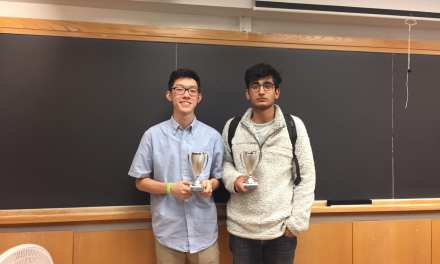 Stuyvesant's Kevin Li wins the Columbia University Invitational!