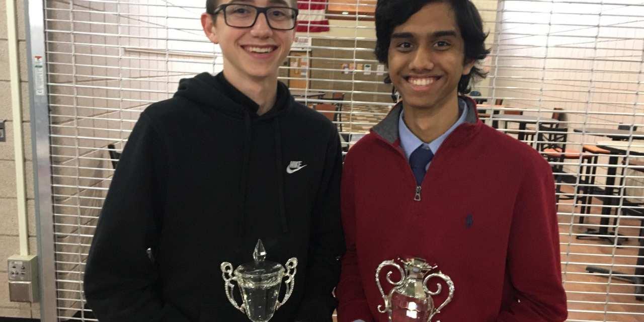 Lake Highland's Sachin Shah wins the Valley Round Robin, Walt Whitman's Benjamin Waldman wins the Sophomore Throwdown
