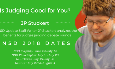 Is Judging Good for You? by JP Stuckert
