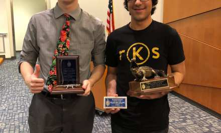 Oak Hall's Kumail Zaidi Wins Blue Key
