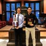Harrison's Ethan Voskoff and Eli Lapkin Champion the University of Pennsylvania