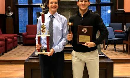 Harrison's Ethan Voskoff and Eli Lapkin Champion the University of Pennsylvania