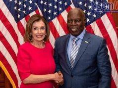 Pelosi meets Ghana ambassador in USA