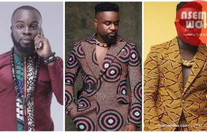 Sarkodie wears kaba in birthday photoshoot