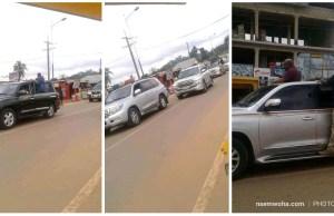 empty streets welcome John Mahama at Sefwi wiawso