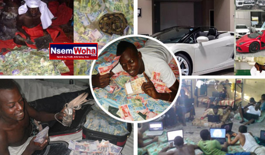 Secrets about How sakawa boys make their money