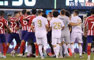 Athletico Madrid beats Real Madrid in USA