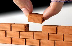 laying bulding foundation