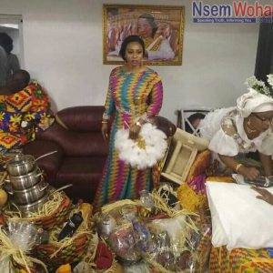 Adwoa Safo gets married to boyfriend hanny