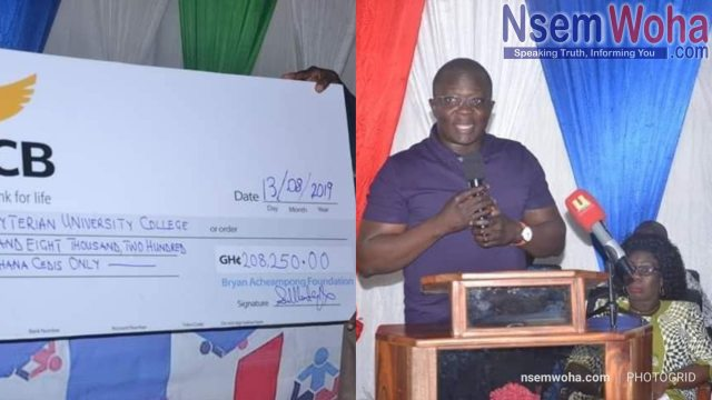 Bryan Acheampong offers scholarship to 70 teachers to pursue masters degree in Abetifi