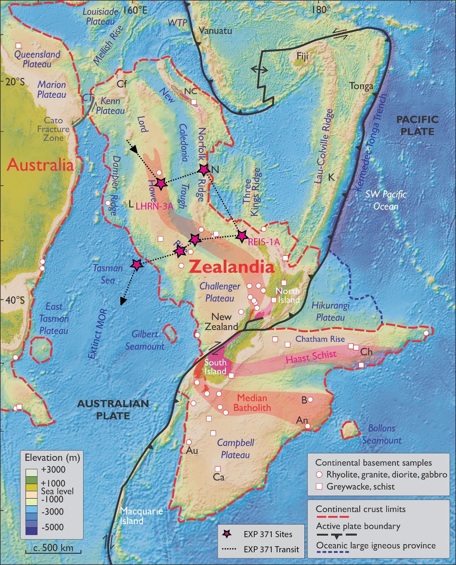 Scientists Reveal Secrets Of Lost Continent Zealandia