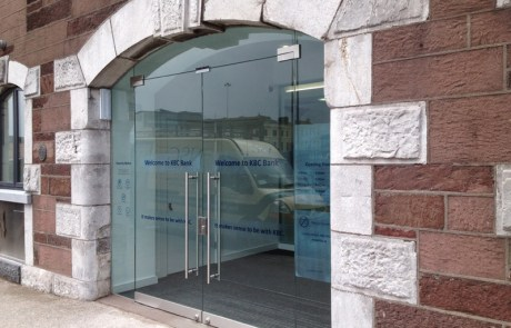 Toughened Glass Security Doors