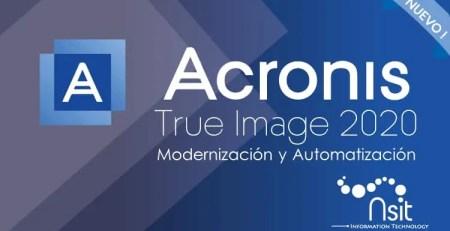 Acronis True Image Automatizacion