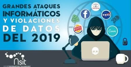 Nsit Grandes ataques informáticos y violaciones de datos del 2019