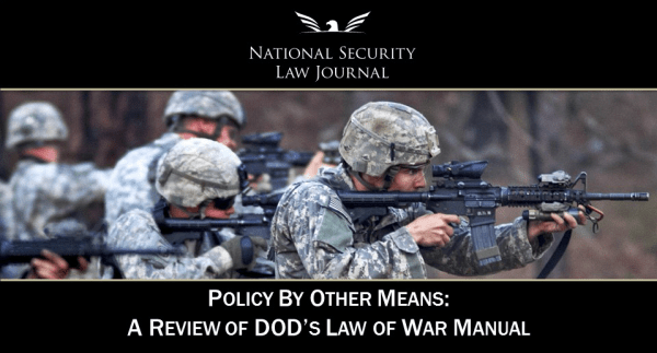 Policy By Other Means - NSLJ