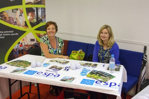 ESPA staff on their stall at our 2015 Marketplace event