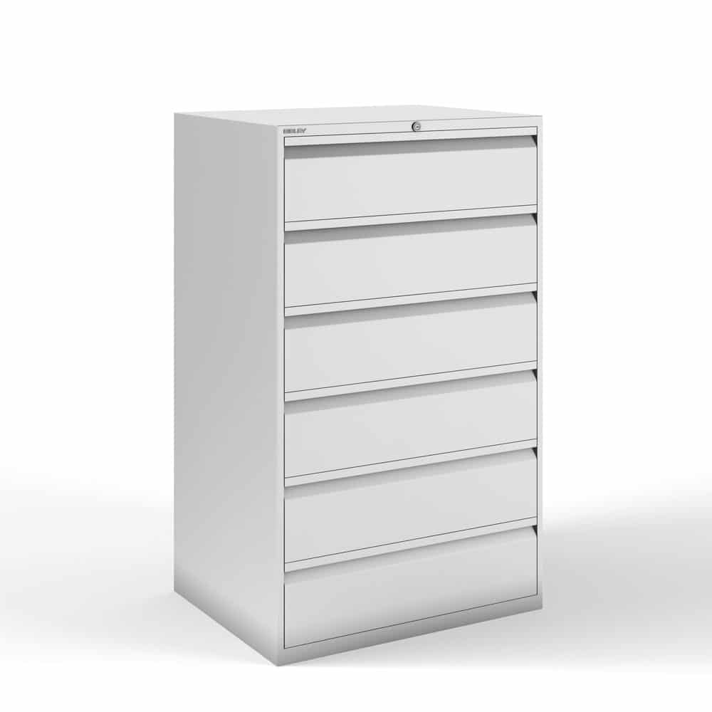 Bisley 6 Drawer Lateral File