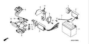 NSR125  Honda NSR 125 schematics