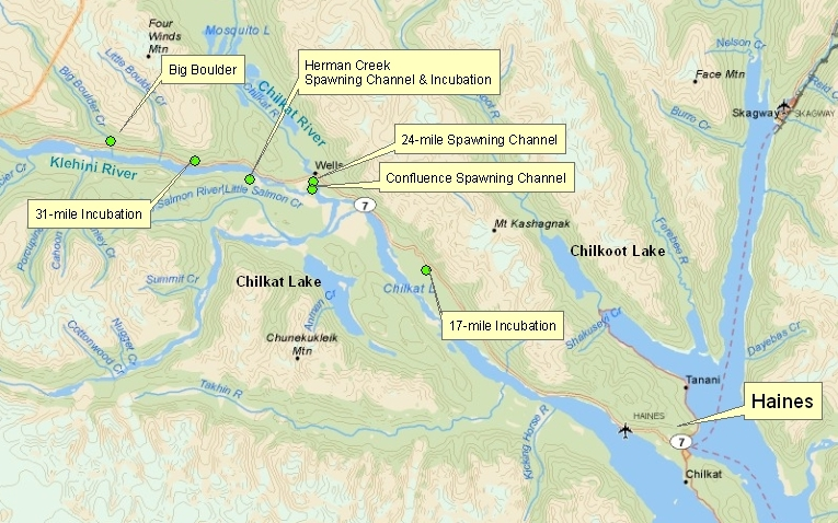 Haines area project map