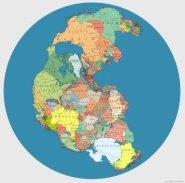 Pangea political map